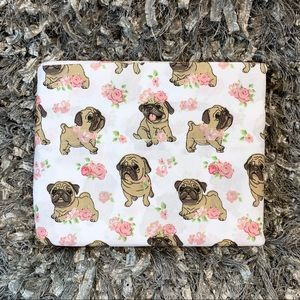 Other - 3pc TWIN Sheet Set • Pug Roses Floral Flower